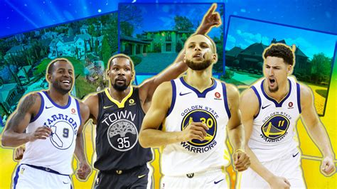 NBA Cribs: The Golden State Warriors' All-Star Real Estate ...