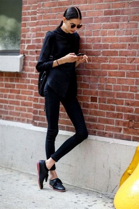 All black outfit on Tumblr
