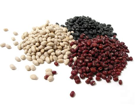 Black and White Dried Beans