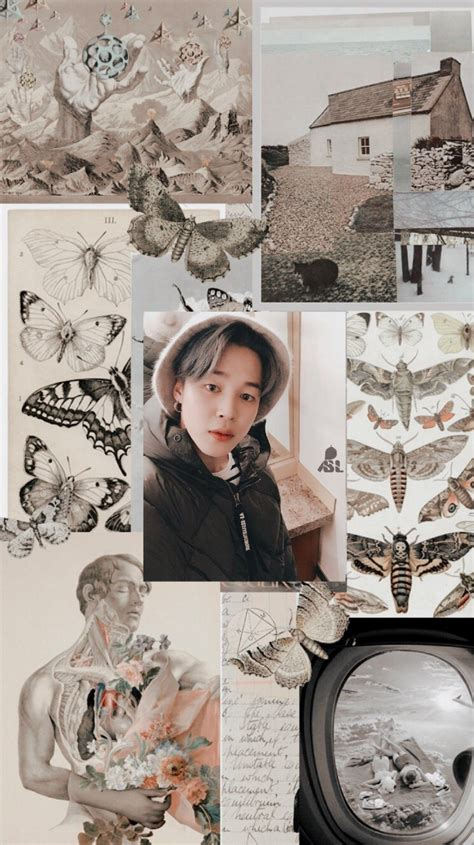jimin aesthetic wallpaper credits to