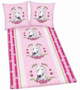 Biber Bettwäsche Rosa : pferde bettw sche set 135x200 biber flanell 465747050 schimmel rosa pferd fohlen ebay ~ Buech-reservation.com Haus und Dekorationen
