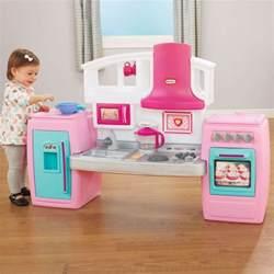 little tikes bake n grow kids kitchen in pink buy