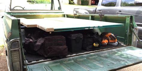build  plywood rack   pickup truck