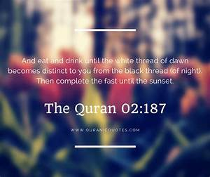 4 Quranic Verses About Ramadan And Fasting | Quranic Quotes
