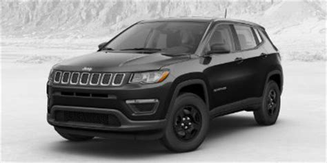 jeep compass all black 2017 redesigned 2017 jeep compass color options