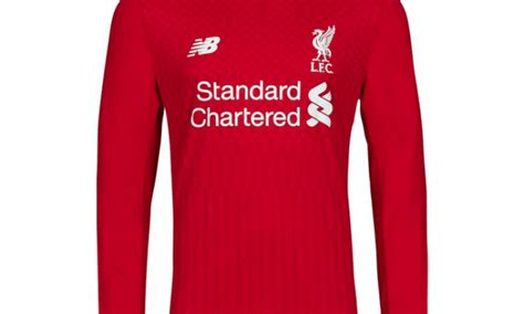 Pictures: Liverpool's home kit for the 2015/16 season ...