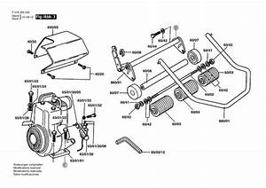 Qualcast Classic Petrol 35s  F016305042  Lawnmower Diagram 3 Spare Parts Diagram