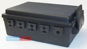 ifor williams and britax style trailer 10 way wiring junction box block lmx525 ebay