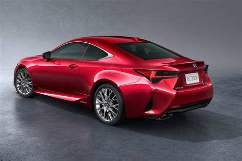 lexus rc sports coupe updated   motoring research