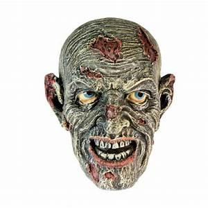 Tete De Citrouille Pour Halloween : t te de zombie d coration halloween f ezia ~ Melissatoandfro.com Idées de Décoration