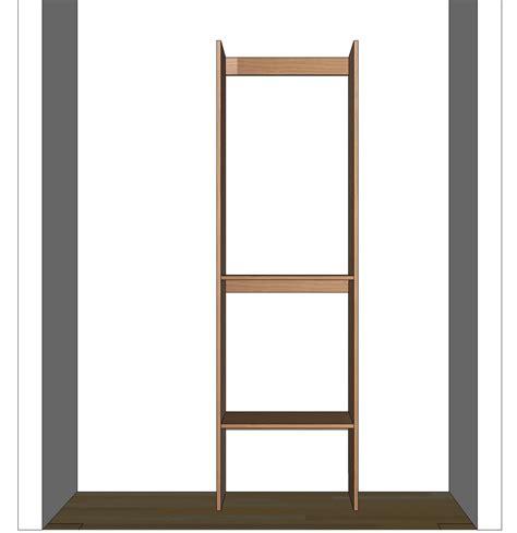 diy closet organizer plans for 5 to 8 closet