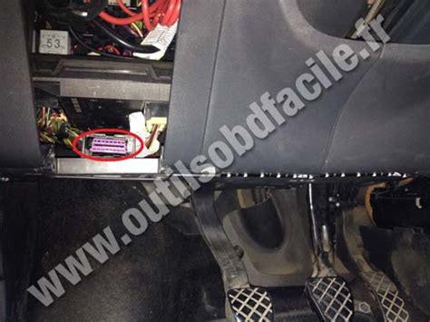 obd connector location  seat cordoba
