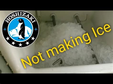 hoshizaki ice machine beeping youtube