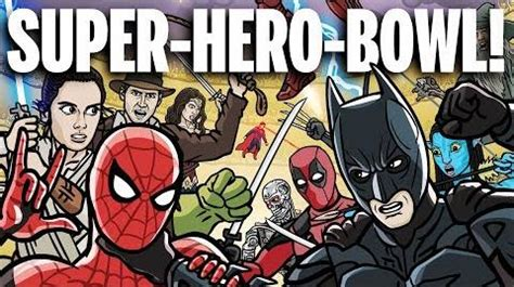 video super hero bowl toon sandwich villains wiki