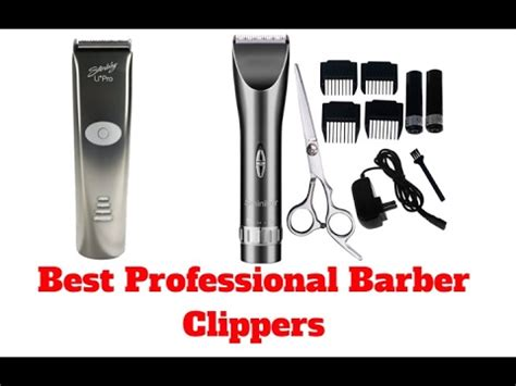 professional barber clippers top list youtube