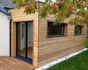 Agrandir Une Maison : agrandir sa maison avec terrasse et extension en bois ~ Melissatoandfro.com Idées de Décoration