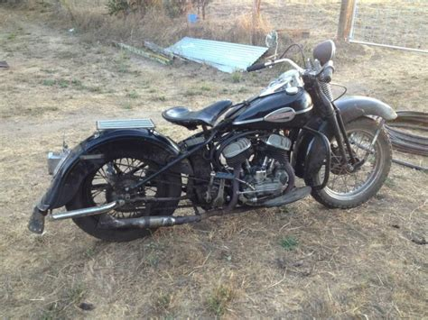 Davidson Front End by Buy 1952 Harley Davidson Unrestored Flathead 45 Stroker On
