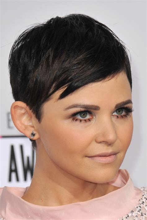 Ginnifer Goodwin Pixie Hairstyle by Ginnifer Goodwin Black Pixie Cut Hairstyle