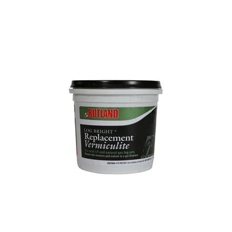 rutland 5 oz log bright vermiculite tub 590 the home depot