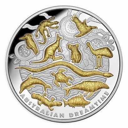 Australian Coin Silver Dreamtime Coins Oz Gold