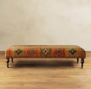 1000+ images about upholstered bench on Pinterest