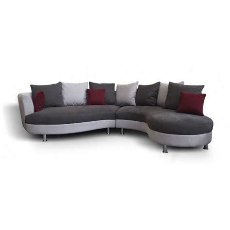 canape d angle arrondi canapé d 39 angle arrondi lind moderne achat vente canapé