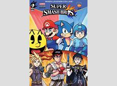 Super Smash Bros Comic Cover by SonicKnight007 on DeviantArt