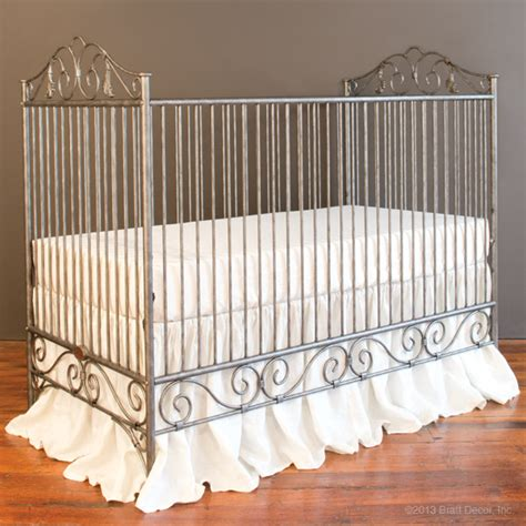 Bratt Decor Crib by Bratt Decor Casablanca Crib In Pewter