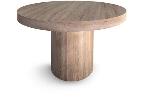Table Ronde Extensible Chêne Megara Design Sur Sofactory
