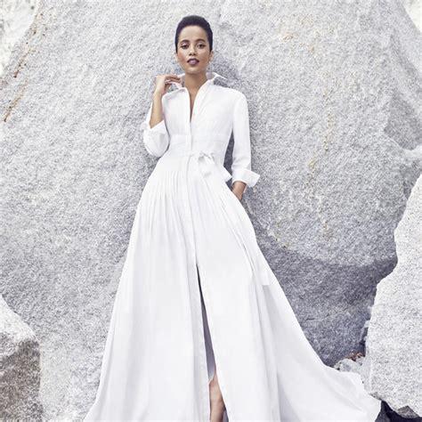modern wedding dresses  rock  world martha