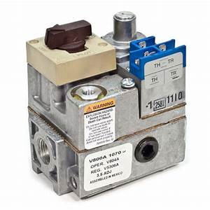 V800a1070 - Honeywell V800a1070 - Standard Pilot Gas Valve - 24v  2 U0026quot  X 3  4 U0026quot  Inlet  Outlet Size