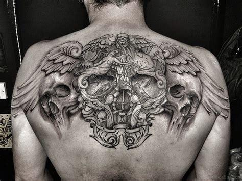 74 Marvelous Skull Tattoos For Back