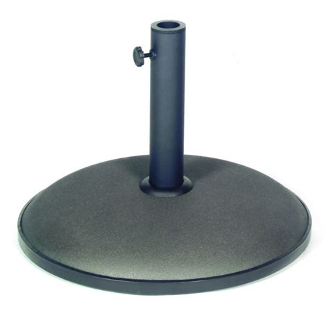 25kg parasol base grey heavy duty black garden patio