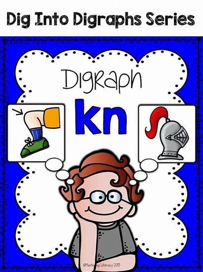 Kn Digraph Words Word Activities Spelling Centers