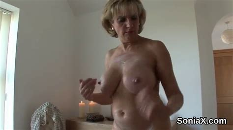 Cheating British Milf Lady Sonia Pops Out Her Enormous