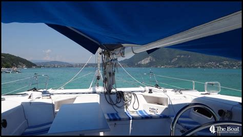 Boat Service Lake Annecy by The Boat Sevrier Tourist Transport Boat Trip Lac D