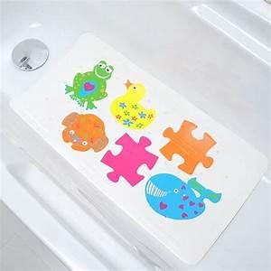Fond De Baignoire : tapis de fond de baignoire anti d rapant enfant color tapis fond de baignoire eminza ~ Melissatoandfro.com Idées de Décoration