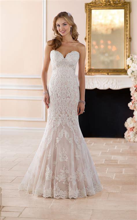Wedding Dresses Romantic Lace Wedding Gown Stella York