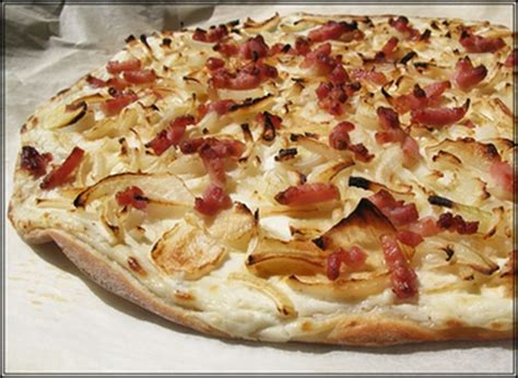 cuisine alsacienne tarte flambee recipe dishmaps