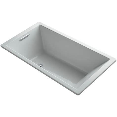 45 Ft Drop In Bathtub by Kohler Underscore 5 5 Ft Rectangular Drop In Or