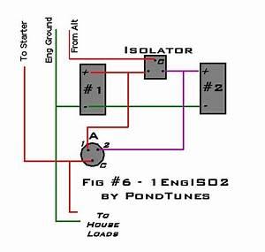 8 Best Images Of Rv Battery Isolator Diagram