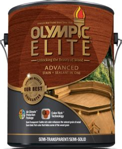 olympic elite  deck stain reviews ratings