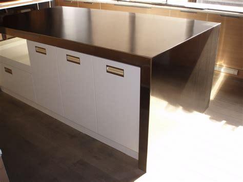 stainless steel countertops brooks custom
