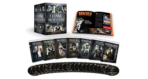 Universal's Classic Monsters Come Together In A 30 Film Set