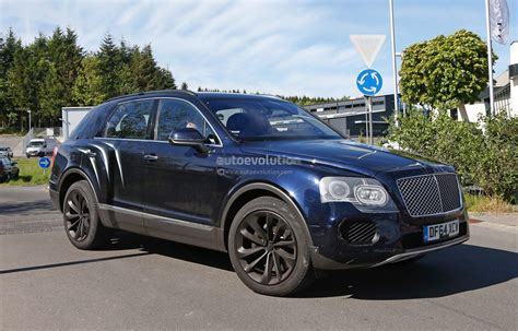 2018 Bentley Bentayga Suv Spotted Nearly Camo Free
