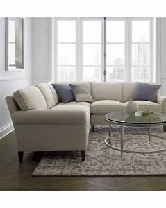 Montclair 2 piece sectional sofa crate and barrel grey for Rug for sectional sofa