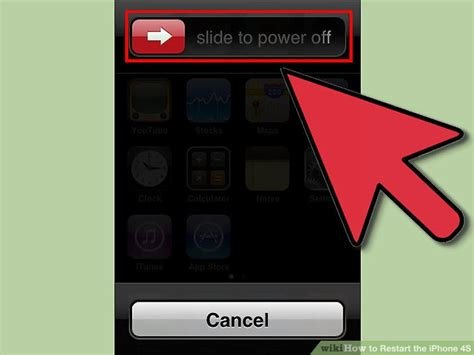 how to restart iphone 4 how to restart the iphone 4s 12 steps with pictures