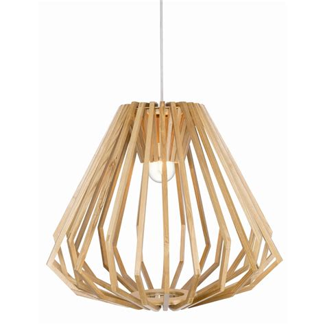 brilliant lighting 55cm axiom timber pendant bunnings