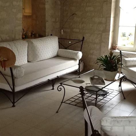 canapé en fer forgé canapé d 39 intérieur en fer forgé modèle romana fabrication