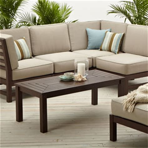 Strathwood Patio Furniture Assembly by Black Friday Strathwood Hardwood Sectional